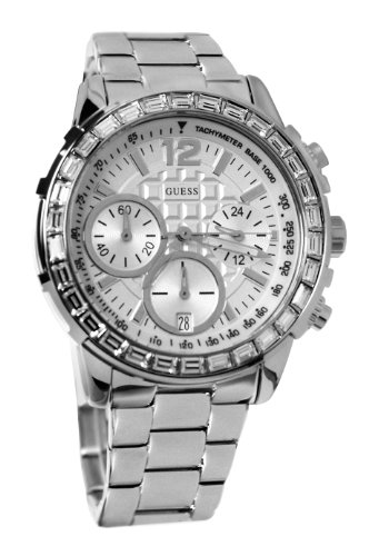 ゲス GUESS 腕時計 レディース U0016L1 【送料無料】GUESS Women's U0016L1 Dazzling Sport Chronograph Watchゲス GUESS 腕時計 レディース U0016L1