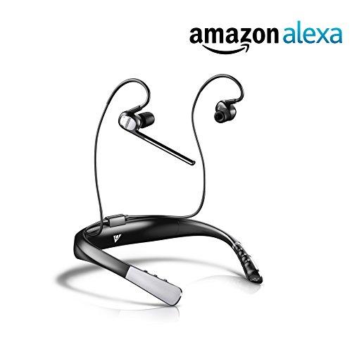 海外輸入ヘッドホン ヘッドフォン イヤホン 海外 輸入 OV OnVocal Alexa Enabled Wireless Bluetooth Headphones with Microphone - in Ear, Voice Commands, Hands-Free Calling, Also Works with Google Assis海外輸入ヘッドホン ヘッドフォン イヤホン 海外 輸入 OV