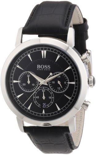 ヒューゴボス 高級腕時計 メンズ 1512780 【送料無料】Boss Slim Ultra Round Chrono 1512780 Mens Chronograph Classic Designヒューゴボス 高級腕時計 メンズ 1512780