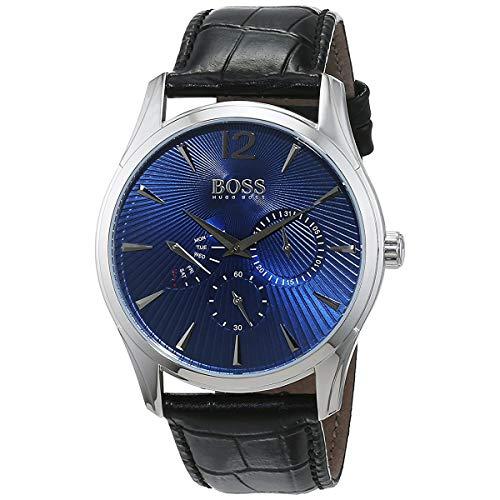 ヒューゴボス 高級腕時計 メンズ 1513489 Boss COMMANDER CLASSIC 1513489 Mens Wristwatch Classic & Simpleヒューゴボス 高級腕時計 メンズ 1513489