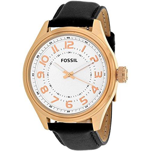 腕時計 フォッシル メンズ BQ2245 【送料無料】Fossil Classic White Dial Leather Strap Men's Watch BQ2245腕時計 フォッシル メンズ BQ2245