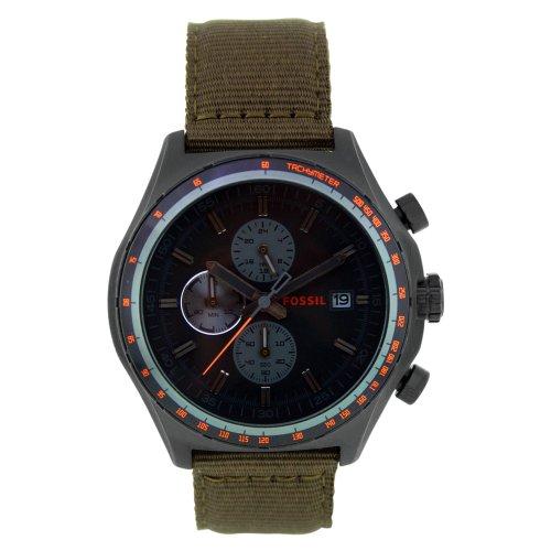 フォッシル 腕時計 メンズ CH2781 【送料無料】Fossil Men's CH2781 Nylon Analog with Black Dial Watchフォッシル 腕時計 メンズ CH2781