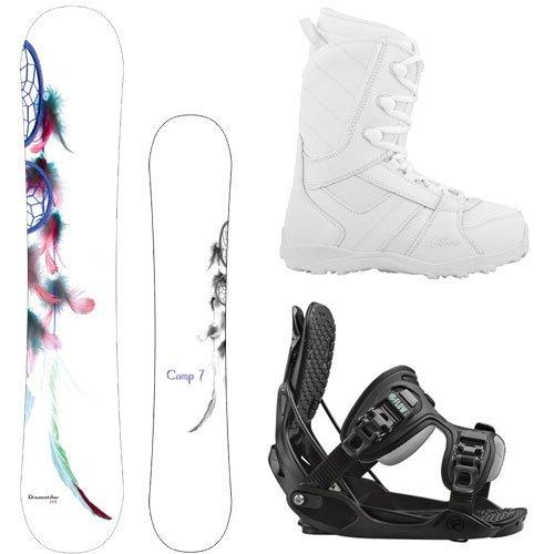 スノーボード ウィンタースポーツ キャンプセブン 2017年モデル2018年モデル多数 System Package-Camp Seven Dreamcatcher Womens Snowboard 139 cm-Flow Haylo Bindings-Siren Lux Womenスノーボード ウィンタースポーツ キャンプセブン 2017年モデル2018年モデル多数