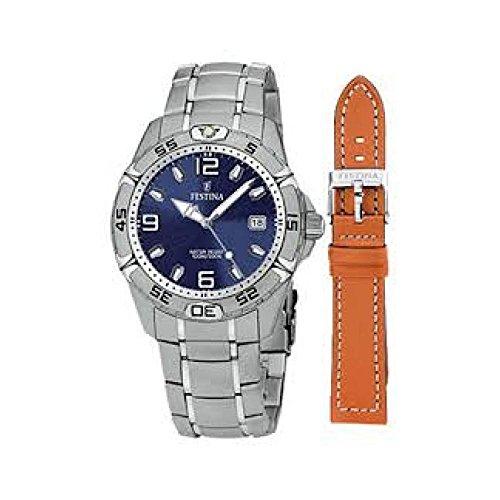 フェスティナ フェスティーナ スイス 腕時計 レディース F16170/4 Festina Sport Unisex Additional leather strapフェスティナ フェスティーナ スイス 腕時計 レディース F16170/4