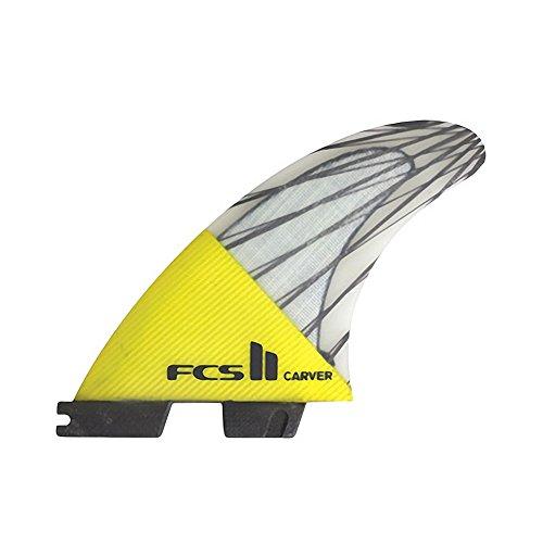 サーフィン フィン マリンスポーツ FCS FCS II Carver Performance Core Thruster Fin Large Yellowサーフィン フィン マリンスポーツ FCS