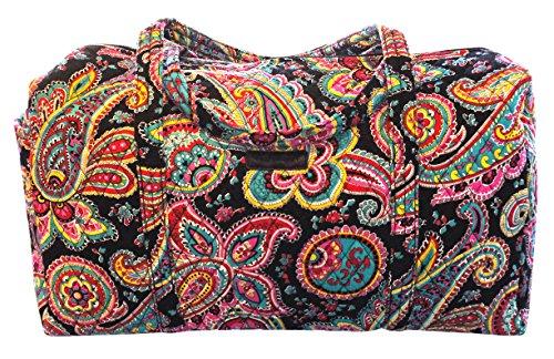 ヴェラブラッドリー ベラブラッドリー アメリカ フロリダ州マイアミ 日本未発売 15826-340 【送料無料】Vera Bradley Large Duffel Bag (Parisian Paisley/ Black Interioヴェラブラッドリー ベラブラッドリー アメリカ フロリダ州マイアミ 日本未発売 15826-340