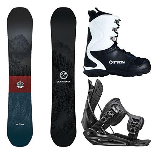 スノーボード ウィンタースポーツ キャンプセブン 2017年モデル2018年モデル多数 Camp Seven Package Redwood Snowboard-153 cm-Flow Alpha MTN Large-System APX Snowboard Boots 9スノーボード ウィンタースポーツ キャンプセブン 2017年モデル2018年モデル多数