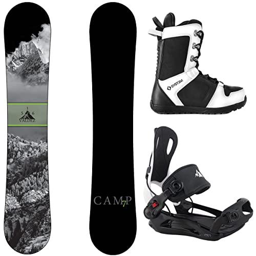 スノーボード ウィンタースポーツ キャンプセブン 2017年モデル2018年モデル多数 Camp Seven Package Valdez Snowboard 153 cm-System MTN Binding XL-System APX Snowboard Boots 13スノーボード ウィンタースポーツ キャンプセブン 2017年モデル2018年モデル多数