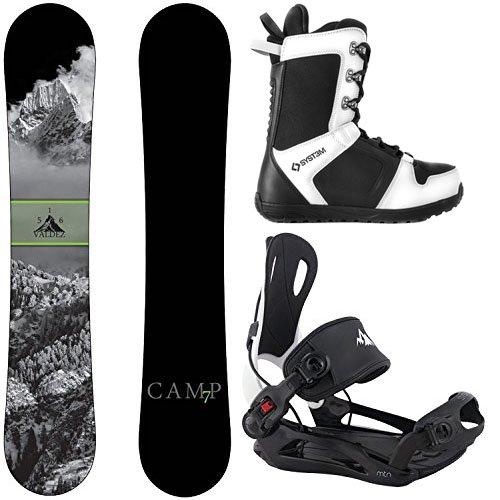 スノーボード ウィンタースポーツ キャンプセブン 2017年モデル2018年モデル多数 Camp Seven Package Valdez Snowboard 158 cm Wide-System MTN Binding Large-System APX Snowboard Bootスノーボード ウィンタースポーツ キャンプセブン 2017年モデル2018年モデル多数