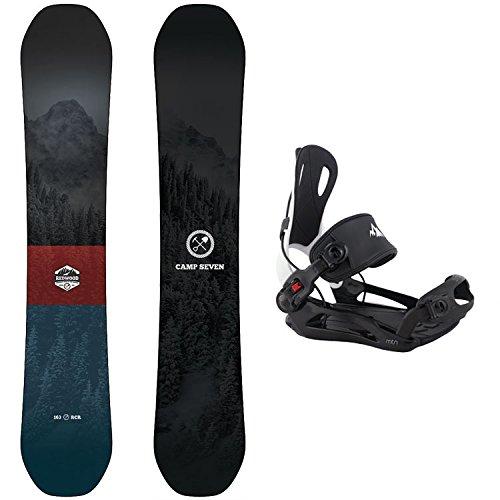 スノーボード ウィンタースポーツ キャンプセブン 2017年モデル2018年モデル多数 Camp Seven Package Redwood Snowboard 160 cm-System MTN Binding XLスノーボード ウィンタースポーツ キャンプセブン 2017年モデル2018年モデル多数