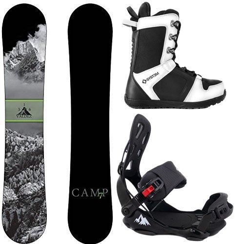 スノーボード ウィンタースポーツ キャンプセブン 2017年モデル2018年モデル多数 Camp Seven Package Valdez Snowboard 158 cm Wide-System LTX Binding Large-System APX Snowboard Bootスノーボード ウィンタースポーツ キャンプセブン 2017年モデル2018年モデル多数