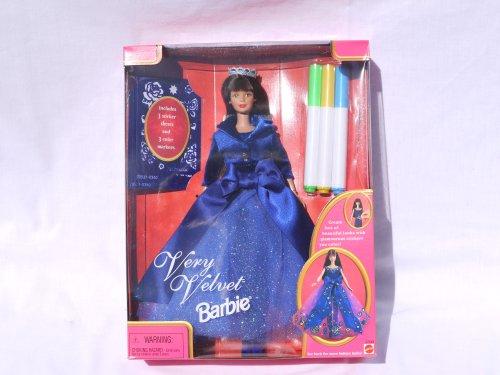 バービー バービー人形 日本未発売 22249 Very Velvet Barbie (Blue 1998)バービー バービー人形 日本未発売 22249
