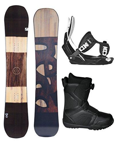 スノーボード ウィンタースポーツ フロウ 2017年モデル2018年モデル多数 HEAD 2018 Daymaker Men's Complete Snowboard Package Bindings BOA Boots - Board Size 159 WIDE (Boot Size 11)スノーボード ウィンタースポーツ フロウ 2017年モデル2018年モデル多数