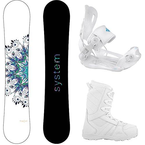 スノーボード ウィンタースポーツ システム 2017年モデル2018年モデル多数 System Package Flite Women's Snowboard-143 cm Lux Bindings-Siren Lux Women's Snowboard Boots-9スノーボード ウィンタースポーツ システム 2017年モデル2018年モデル多数
