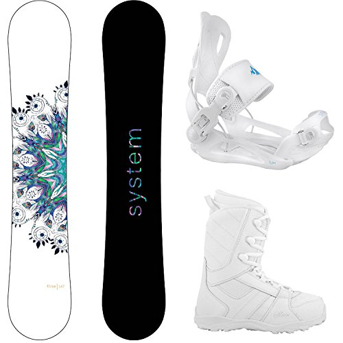 スノーボード ウィンタースポーツ システム 2017年モデル2018年モデル多数 System Package Flite Women's Snowboard-146 cm Lux Bindings-Siren Lux Women's Snowboard Boots-7スノーボード ウィンタースポーツ システム 2017年モデル2018年モデル多数