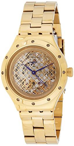 腕時計 スウォッチ メンズ 夏の腕時計特集 YAG100G 【送料無料】Swatch Men's Watch, Face On Gold Stainless-Steel Band腕時計 スウォッチ メンズ 夏の腕時計特集 YAG100G