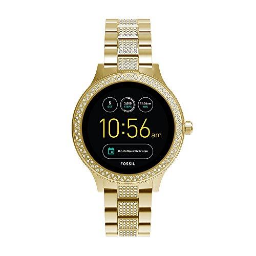 フォッシル 腕時計 レディース FTW6001 【送料無料】Fossil Q Women's Gen 3 Venture Stainless Steel Smartwatch, Color: Gold-Tone (Model: FTW6001)フォッシル 腕時計 レディース FTW6001
