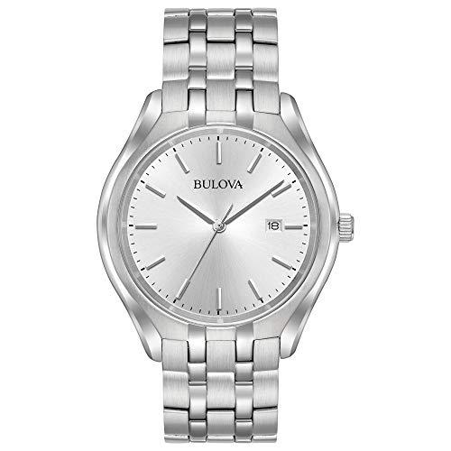 ブローバ 腕時計 メンズ 96B264 Bulova Men's 96B264 Silver Stainless-Steel Japanese Quartz Dress Watchブローバ 腕時計 メンズ 96B264