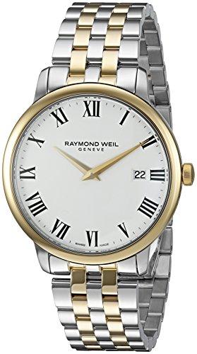 レイモンドウィル 腕時計 メンズ スイスの高級腕時計 5488-STP-00300 【送料無料】Raymond Weil Men's 'Toccata' Swiss Quartz Stainless Steel Dress Watch, Color:Two Tone (Model: 5488-STPレイモンドウィル 腕時計 メンズ スイスの高級腕時計 5488-STP-00300