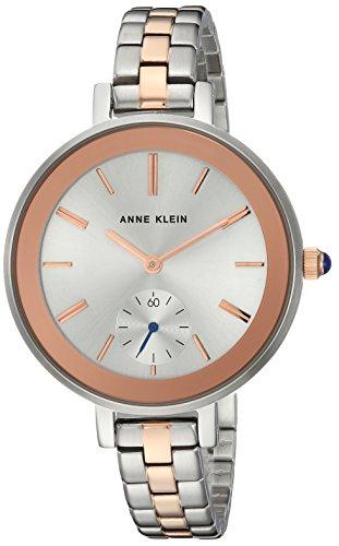 アンクライン 腕時計 レディース AK/2991SVRT 【送料無料】Anne Klein Women's AK/2991SVRT Rose Gold-Tone and Silver-Tone Bracelet Watchアンクライン 腕時計 レディース AK/2991SVRT