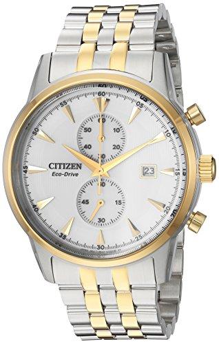シチズン 逆輸入 海外モデル 海外限定 アメリカ直輸入 CA7004-54A Citizen Men's 'Eco-Drive' Quartz Stainless Steel Dress Watch, Color:Two Tone (Model: CA7004-54A)シチズン 逆輸入 海外モデル 海外限定 アメリカ直輸入 CA7004-54A