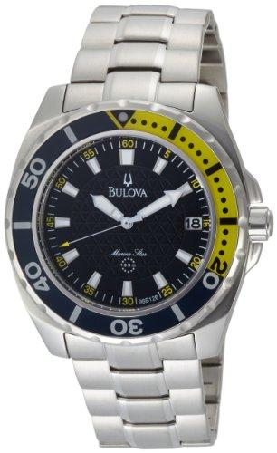ブローバ 腕時計 メンズ 96B126 【送料無料】Bulova Men's 96B126 Marine Star Black Dial Watchブローバ 腕時計 メンズ 96B126