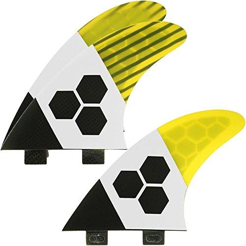 サーフィン フィン マリンスポーツ FSET-2T-TK2-L-3YEL Channel Islands Surfboards Tech 2 Rtm Fin Set - 3 Fins - FCS Base, Yellow, Largeサーフィン フィン マリンスポーツ FSET-2T-TK2-L-3YEL