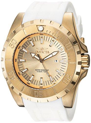 インヴィクタ インビクタ プロダイバー 腕時計 メンズ 23740 【送料無料】Invicta Men's 'Pro Diver' Quartz Stainless Steel and Polyurethane Casual Watch, Color:Gold (Model: 23740)インヴィクタ インビクタ プロダイバー 腕時計 メンズ 23740