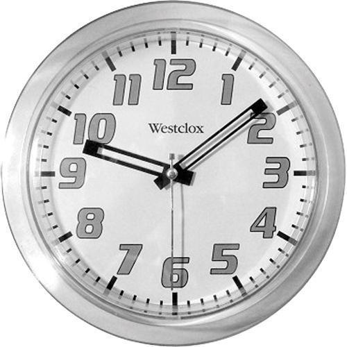 壁掛け時計 インテリア インテリア 海外モデル アメリカ 32004 Westclox Wall Clock - Silver - 32004壁掛け時計 インテリア インテリア 海外モデル アメリカ 32004