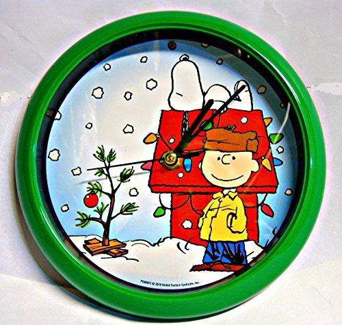 壁掛け時計 インテリア インテリア 海外モデル アメリカ Peanuts Christmas Carol Wall Clock壁掛け時計 インテリア インテリア 海外モデル アメリカ