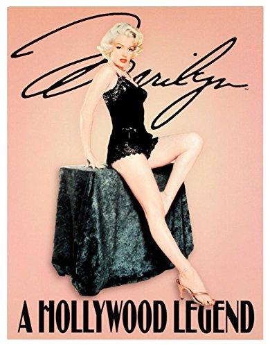 壁飾り インテリア タペストリー 壁掛けオブジェ 海外デザイン 【送料無料】Marilyn Monroe Hollywood Legend Tin Sign 13 x 16in壁飾り インテリア タペストリー 壁掛けオブジェ 海外デザイン