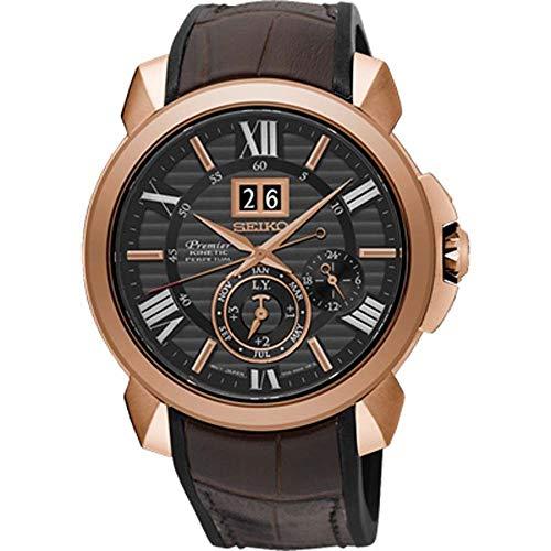 セイコー 腕時計 メンズ SNP146P1 【送料無料】Seiko Premier Novak Djokovic Special Edition SNP146P1 Watch Perpetual Calendarセイコー 腕時計 メンズ SNP146P1