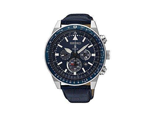 セイコー 腕時計 メンズ SSC609P1 【送料無料】Seiko Prospex SKY Solar Chronograph SSC609P1 Mens Chronograph Classic & Simpleセイコー 腕時計 メンズ SSC609P1