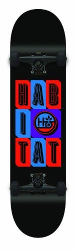 ハビタット スタンダードスケートボード スケボー 海外モデル アメリカ直輸入 H43112106 Habitat Headline Stacked Large Skateboardハビタット スタンダードスケートボード スケボー 海外モデル アメリカ直輸入 H43112106