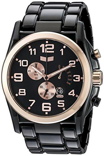 ベスタル ヴェスタル 腕時計 メンズ DEV010 【送料無料】Vestal Men's DEV010 De Novo Black/Rose Gold Watchベスタル ヴェスタル 腕時計 メンズ DEV010
