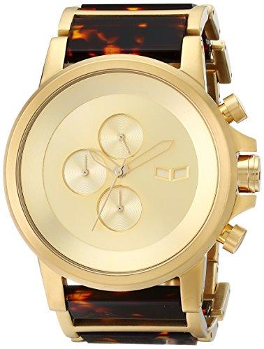 ベスタル ヴェスタル 腕時計 メンズ PLA022 【送料無料】Vestal Men's PLA022 Plexi Acetate Analog Display Japanese Quartz Gold Watchベスタル ヴェスタル 腕時計 メンズ PLA022