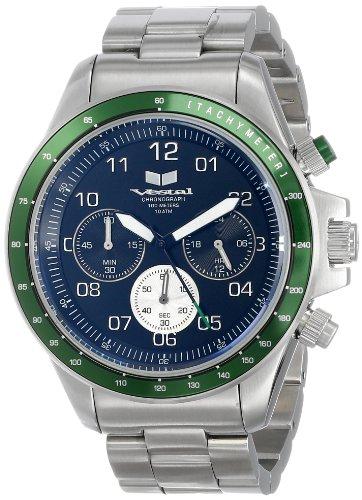 ベスタル ヴェスタル 腕時計 メンズ ZR2016 【送料無料】Vestal Unisex ZR2016 ZR-2 Silver Green Black Watchベスタル ヴェスタル 腕時計 メンズ ZR2016