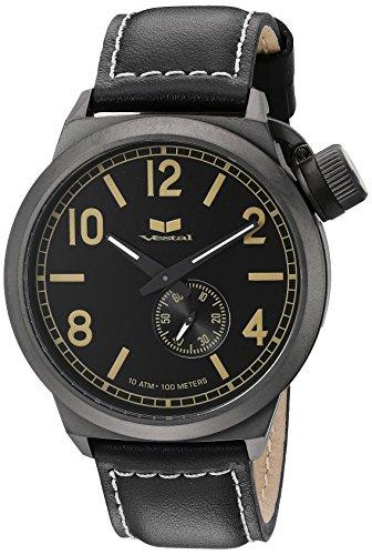 ベスタル ヴェスタル 腕時計 メンズ CTN3L10 Vestal Men's CTN3L10 Canteen Analog Display Japanese Quartz Black Watchベスタル ヴェスタル 腕時計 メンズ CTN3L10