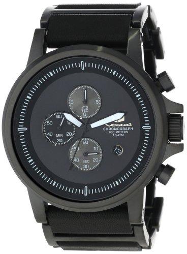 ベスタル ヴェスタル 腕時計 メンズ PLE038 【送料無料】Vestal Men's PLE038 Plexi Black Lume Watchベスタル ヴェスタル 腕時計 メンズ PLE038