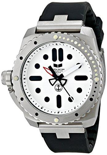 ベスタル ヴェスタル 腕時計 メンズ RED3S01 Vestal Men's RED3S01 Restrictor Diver 43 Silver White Watchベスタル ヴェスタル 腕時計 メンズ RED3S01