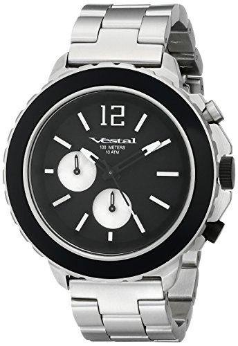 ベスタル ヴェスタル 腕時計 メンズ YATCM02 【送料無料】Vestal Men's YATCM02 Yacht Metal Analog Display Japanese Quartz Black Watchベスタル ヴェスタル 腕時計 メンズ YATCM02