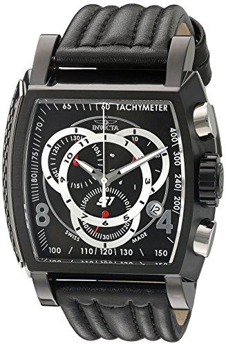 インヴィクタ インビクタ 腕時計 メンズ 20248 【送料無料】Invicta Men's 20248 S1 Rally Black Stainless Steel Watch with Leather Bandインヴィクタ インビクタ 腕時計 メンズ 20248
