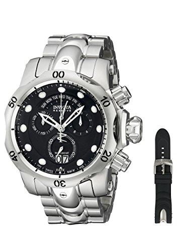 インヴィクタ インビクタ リザーブ 腕時計 メンズ 1539 Invicta Men's 1539 Reserve Venom Chronograph Black Dial Stainless Steel Watchインヴィクタ インビクタ リザーブ 腕時計 メンズ 1539