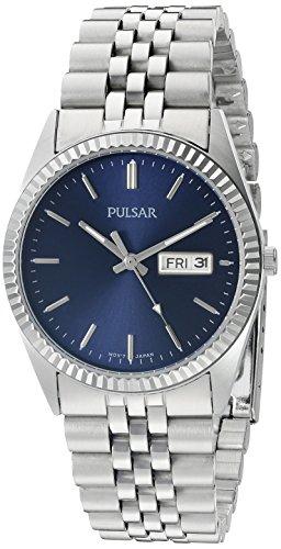 腕時計 パルサー SEIKO セイコー メンズ PXF303 【送料無料】Pulsar Men's PXF303 Functional Analog Display Japanese Quartz Silver Watch腕時計 パルサー SEIKO セイコー メンズ PXF303