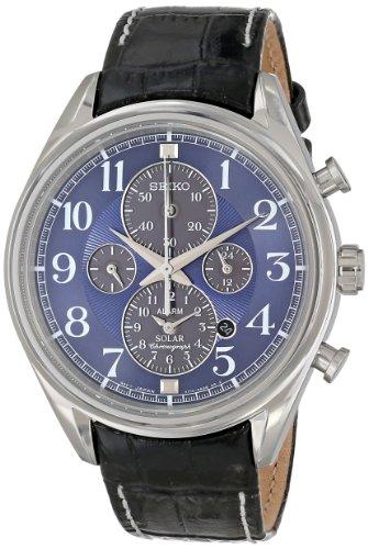 腕時計 セイコー メンズ SSC209 【送料無料】Seiko Men's SSC209 Analog Display Japanese Quartz Blue Watch腕時計 セイコー メンズ SSC209