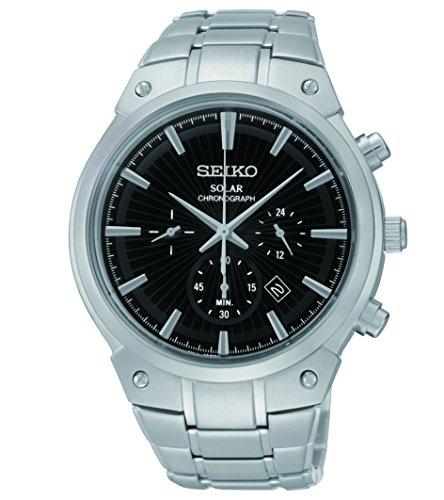 セイコー 腕時計 メンズ SSC317 【送料無料】Seiko Men's SSC317 Analog Display Analog Quartz Silver Watchセイコー 腕時計 メンズ SSC317