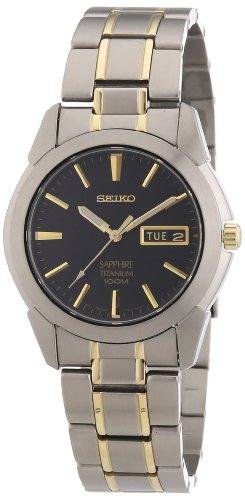 セイコー 腕時計 メンズ SGG735 Seiko Men's SGG735 Titanium Titanium Two Tone Bracelet Watchセイコー 腕時計 メンズ SGG735