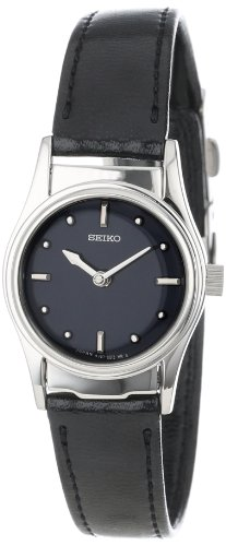 セイコー 腕時計 レディース 夏のボーナス特集 SWL001 Seiko Women's SWL001 Braille Black Leather Strap Watchセイコー 腕時計 レディース 夏のボーナス特集 SWL001