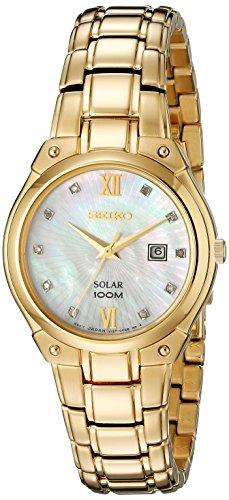 セイコー 腕時計 レディース SUT216 【送料無料】Seiko Women's SUT216 Analog Display Analog Quartz Gold Watchセイコー 腕時計 レディース SUT216