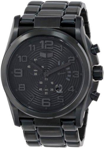 ベスタル ヴェスタル 腕時計 メンズ DEV004 Vestal Men's DEV004 De Novo Matte Black Retrograde Chronograph Watchベスタル ヴェスタル 腕時計 メンズ DEV004